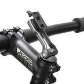 Uchwyt do telefonu na kierownice motor skuter rower mocny sztywny ALU zdjęcie 3