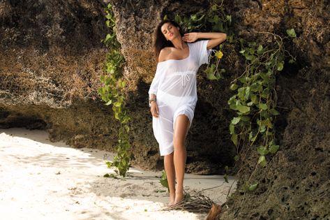 Tunika Dora Bianco M-443 (1) Rozmiar L