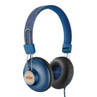 House of Marley Positive Vibration 2 przewodowe niebieskie