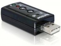 Delock karta dźwiękowa na USB 7.1