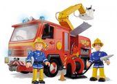 Simba Strażak Sam Wóz strażacki Jupiter z dźwiękiem i światłem + 2 fig zdjęcie 2