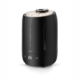 Eta Humidifier Eta162990000 Black, Suitable For Rooms Up To 30 M², 25 W