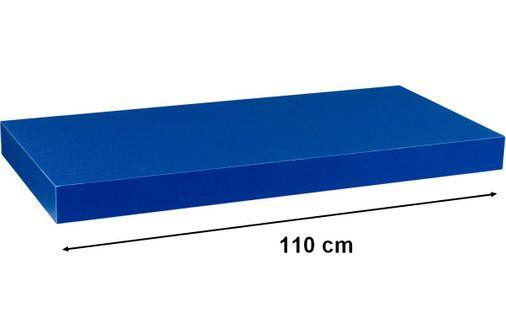 Półka ścienna STILISTA Volato niebieska, 110 cm M31077