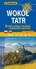 Mapa atrakcji - Wokół Tatr 1:120 000 praca zbiorowa