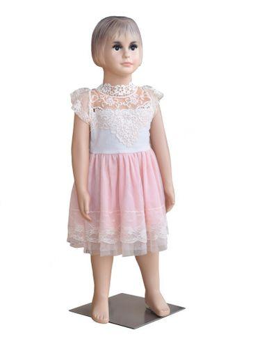 Manekin sklepowy, wystawowy dziewczynka 90 cm na Arena.pl