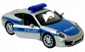 PORSCHE 911 Carrera S Polizei Samochód Welly 1:34