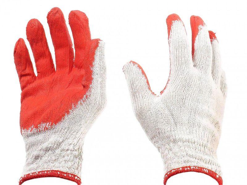 Rękawice robocze do ogrodu 9L zdjęcie 1