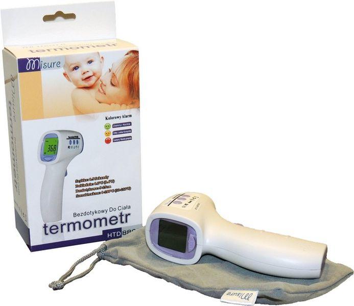 Termometr Bezdotykowy Lekarski Medyczny dla Niemowląt i Dzieci zdjęcie 3