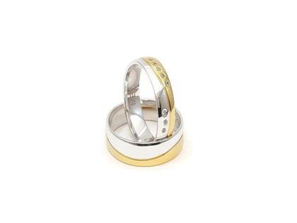 Złote Obrączki Ślubne 585 model SU20 DUŻY WYBÓR