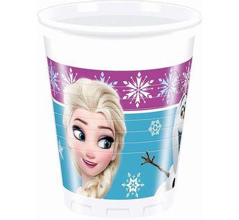 Kubeczki Frozen Kraina Lodu Roczek Urodziny 6szt