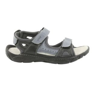 Sandały skórzane na rzepy Naszbut 043 r.44
