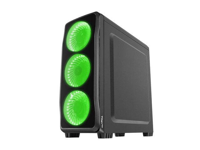 OBUDOWA GENESIS TITAN 750 GREEN MIDI TOWER (Z OKNEM, REG. OBR., USB 3.0, BEZ PSU) na Arena.pl