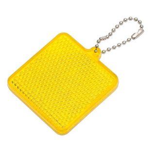 Światełko odblaskowe Square Reflect, żółty