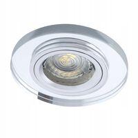 Oprawa halogenowa okrągła szklana kryształ KANLUX