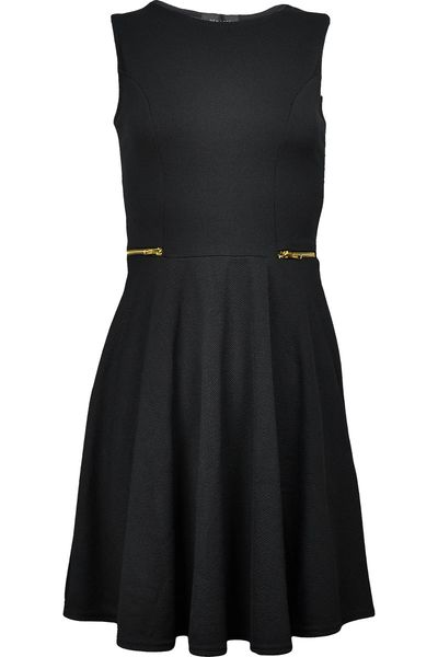 New Look Czarna Sukienka, Zip - 38 / M zdjęcie 1