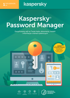 Kaspersky Password Manager 1 rok