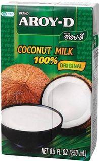 Mleko kokosowe  Aroy-D 250ml - BEZ KONSERWANTÓW !!!