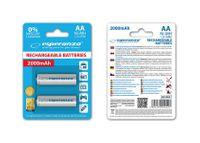 Akumulatorki AA Esperanza 2000mAh 2szt. białe