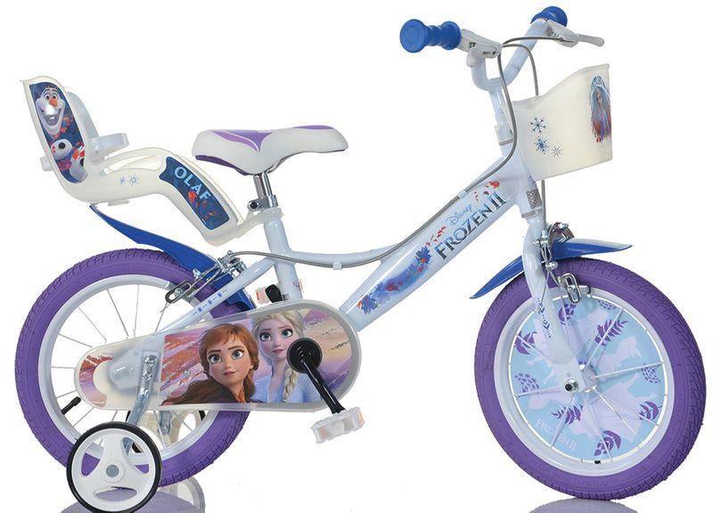 Włoski rowerek rower Disney Frozen 16 cali Kraina Lodu Frozen Elsa EU na Arena.pl