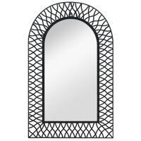 Lustro Ścienne, Łukowe, 50 X 80 Cm, Czarne