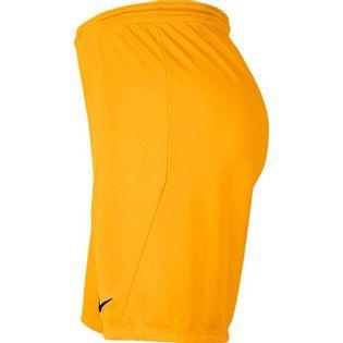 Spodenki dla dzieci Nike Dry Park III NB K ciemnożółte BV6865 739