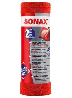 SONAX MIKROFIBRA DO POLEROWANIA 40X40 2szt