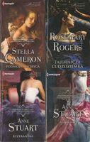 Harlequin Powieść Historyczna Zestaw 4 książek Różne autorki