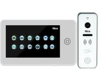 Wideodomofon Nice Pro WPlus ZESTAW - dotyk pamięć ruch RFID
