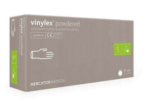 Rękawice winylowe vinylex powdered S karton 10 x 100 szt na Arena.pl