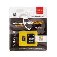 Karta pamięci microSD 32GB Imro+ adp 10C UHS-3
