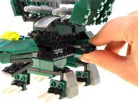 Klocki konstrukcyjne 4w1 transformer dino ZA1205