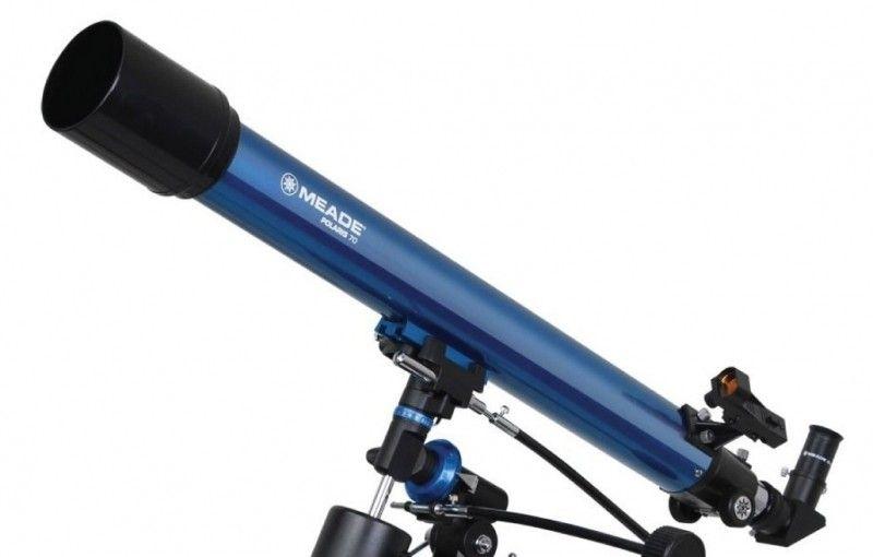 Teleskop refrakcyjny Meade Polaris 70mm EQ  M1 zdjęcie 3
