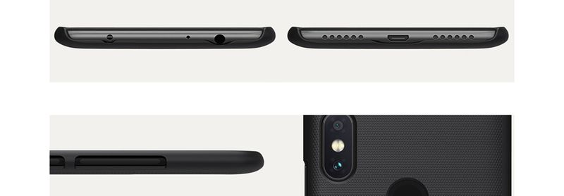 Etui futerał pokrowiec NILLKIN Frosted Shield Xiaomi Redmi Note 6 Pro zdjęcie 7