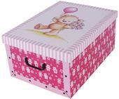 Pudełko kartonowe MAXI MISIE RÓŻOWE