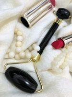 Botano Roller Obsydian - czarny wałek do masażu twarzy
