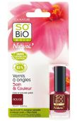 SO'BiO Etic Vernis a Ongles Natural Coueleur & Soin - Naturalny lakier