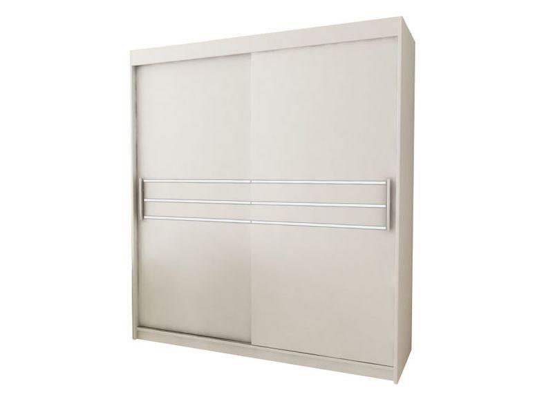 Szafa przesuwna garderoba PASA 200 biała RIBES zdjęcie 1