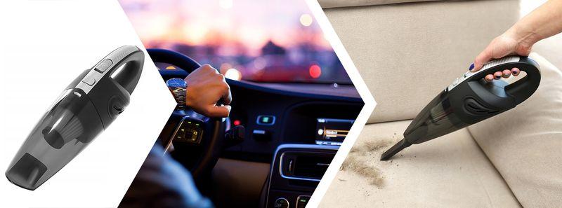Odkurzacz Samochodowy Bezprzewodowy Ręczny 120W USB D195 na Arena.pl