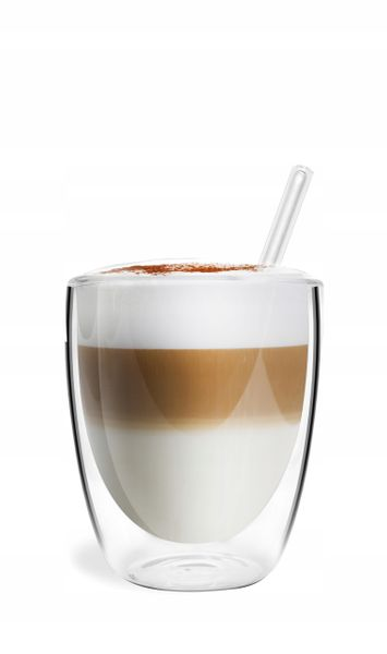 Szklanki Termiczne Podwójna Ścianka Kawa Herbata 320ml Vialli Design 6 zdjęcie 4