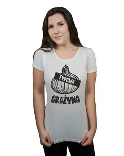 Koszulka damska TYPOWA GRAŻYNA CEBULA M