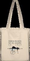 """Kot 2"" Torba Bawełniana Eko"