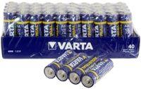 40x LR6 VARTA 1,5V BATERIA INDUSTRIAL AA R6 2025