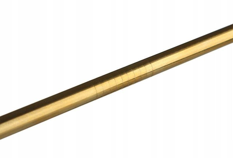 2x Słomki rurki metalowe wielorazowe z czyścikiem zdjęcie 5