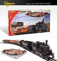 Mehano T109 Western Train kolejka zestaw z makietą