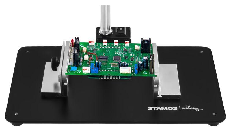 Lampa z lupą - 5 / 10-krotne powiększenie - czarna Stamos S-LP-3S zdjęcie 8