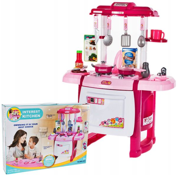 Kuchnia dla dzieci Piekarnik Zlew + Akcesoria Y162 zdjęcie 10