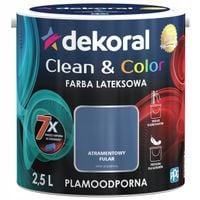 Dekoral Clean & Color 2,5L ATRAMENTOWY FULAR