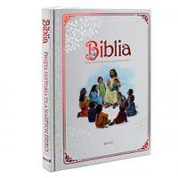 Biblia Święta Historia dla dzieci Chrzest GRAWER