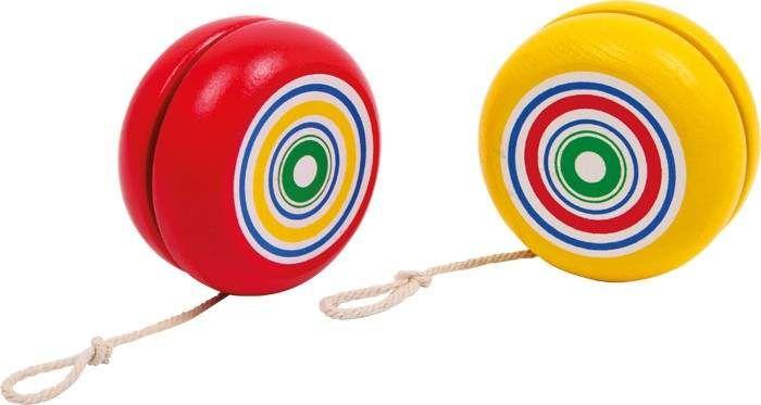 Jojo dla dzieci - żółte lub czerwone, 1szt. zabawka montessori zdjęcie 2