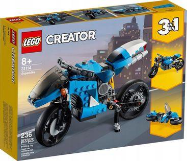 LEGO 31114 CREATOR SUPERMOTOCYKL